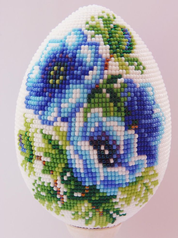 Анемоны | biser.info - всё о бисере и бисерном творчестве