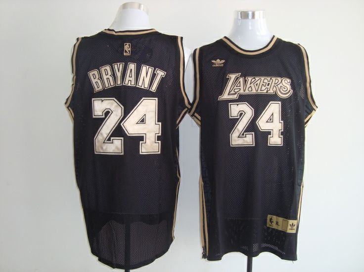 Los Angeles Lakers Kobe Bryant #24 Swingman Jersey Black 03-Ortbel.com