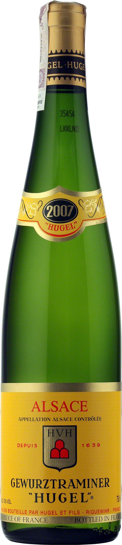 Wino Hugel Gewürztraminer Alsace A.O.C. to wielka specjalność regionu alzackiego, gdzie odmiana ta osiąga niezwykłe silną aromatyczność. Jest to wino z powiewem korzeni i przypraw, o wyjątkowej jakości i zadziwiającym bukiecie dojrzałych, egzotycznych owoców. Delikatne i gładkie, może radować samo w sobie.  #Wino #Hugel #Gewurztraminer #Alzacja #Winezja