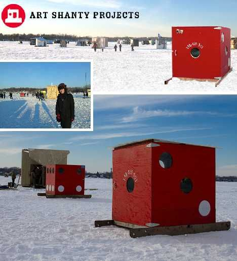 What are some top-rated ice fishing shelters?