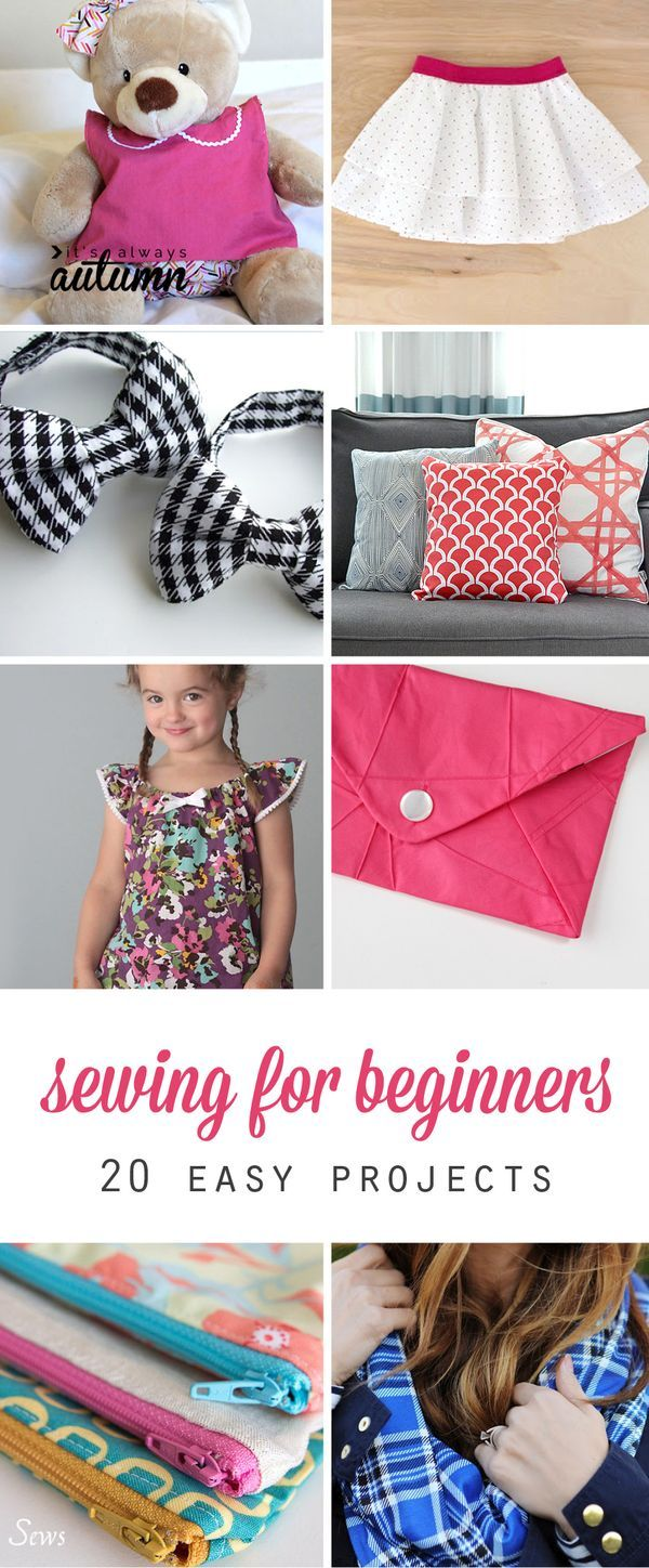 43+ Sewing craft ideas for beginners information