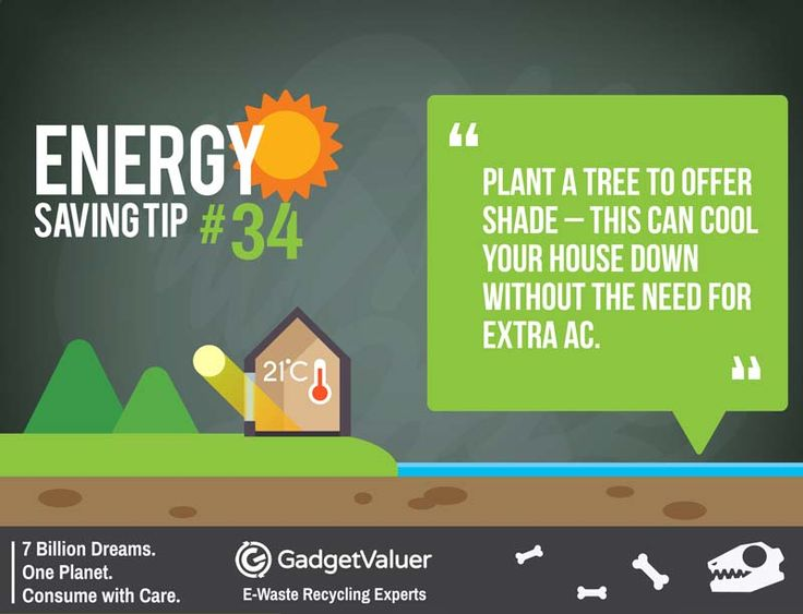 Energy Saving Tip 34 | 150+ Sustainability Resources | #WED2015 #7BillionDreams #Sustainability
