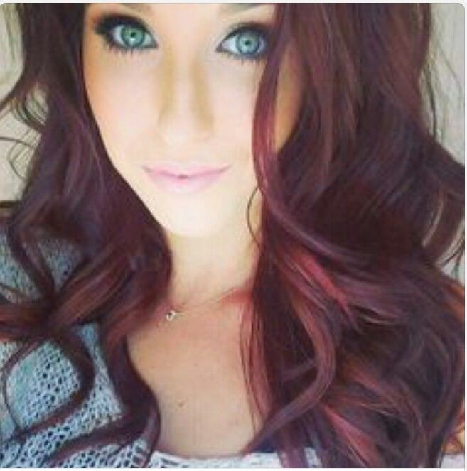 I so did this hair color for fall...still getting use to it but love how it makes my blue eyes pop. :-)