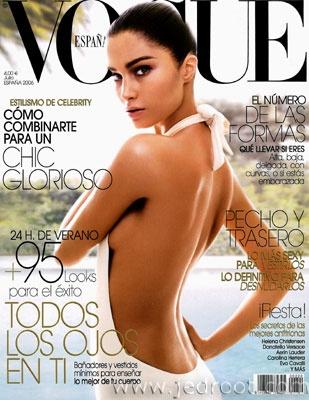 Vogue Spain July 2006 - Marija Vujovic