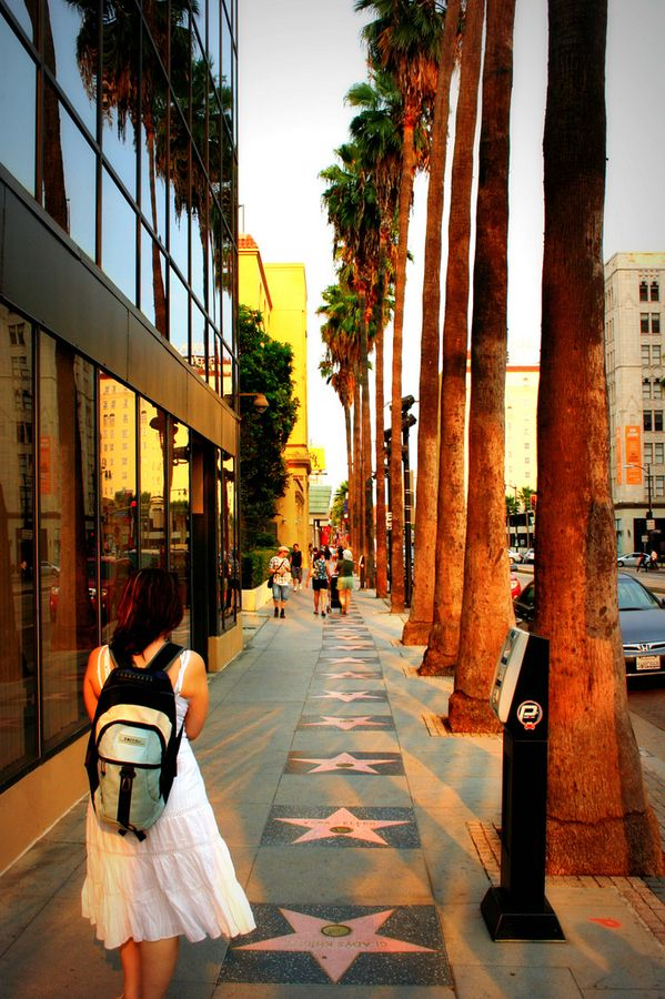 Walk of fame - Hollywood, California