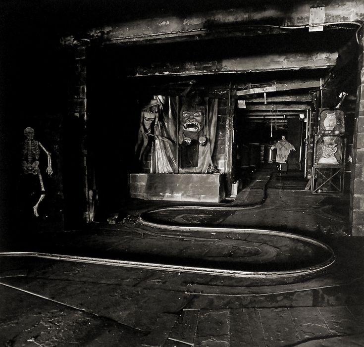 Diane Arbus. 'The House of Horrors' 1961