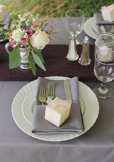 Gourmet Chocolate Wedding Favors As Part Of The Tablescape See More Candy And