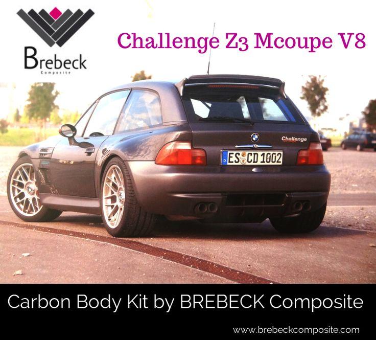 Composite body by Brebeck Composite - Challenge Z3 Mcoupe V8 #carbonfiber #composites #challengez3 www.brebeckcomposite.com