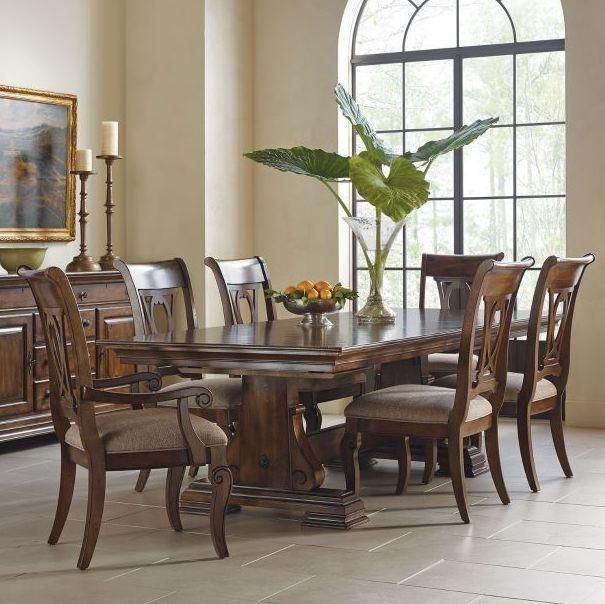 Carusso 7 Piece Dining Set By Kincaid Kincaid Furniture