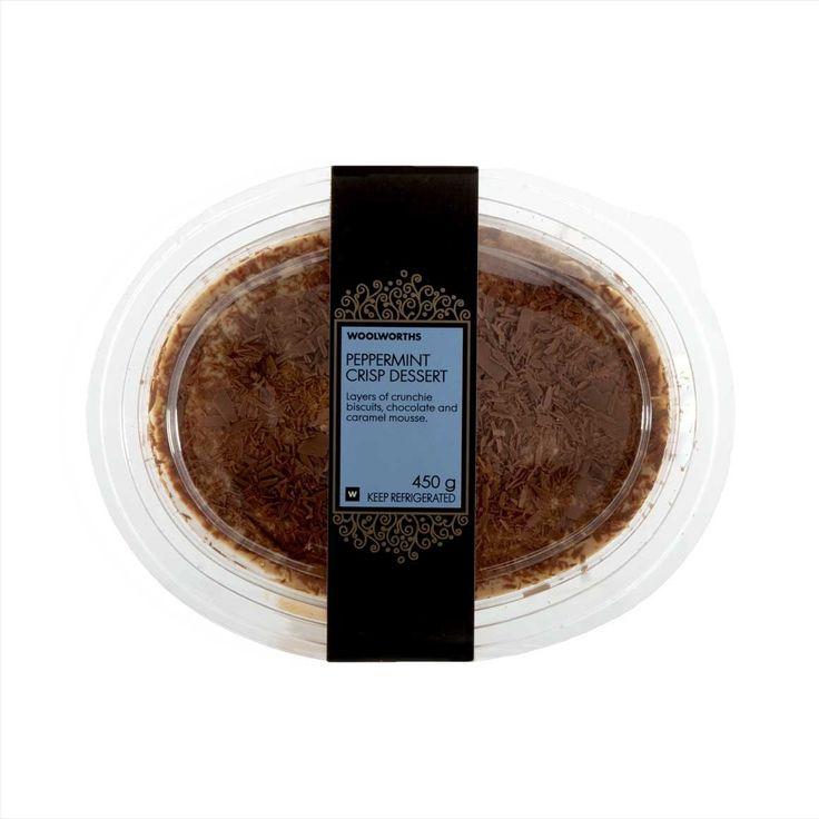 Peppermint Crisp Chilled Dessert 450g