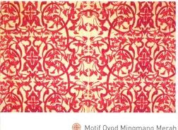 Batik Kuningan motif oyod mingmang merah