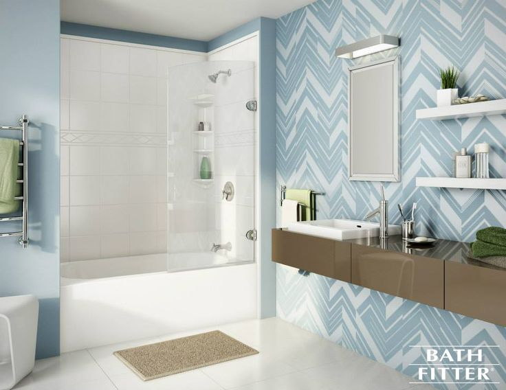 Shoddy To Chic In One Day Sign Up For Your Free Estimate Now Http Bath Fittersbest Bathroomsshower Designsbathroom