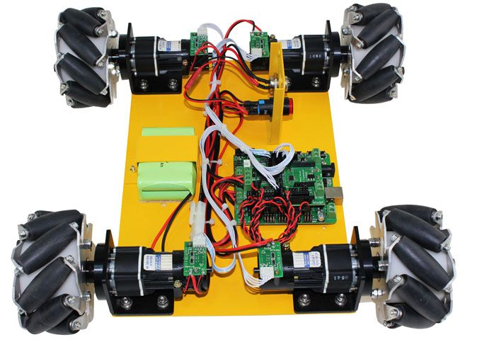 4WD 100mm Mecanum Wheel Learning Arduino Kit 10009