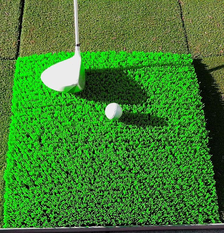 Golfpálya kefe
