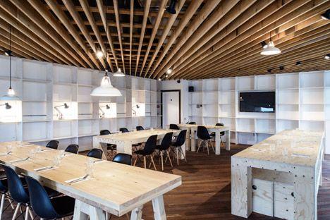 Studio Tilt's interior for Proud Archivist echoes Georgian coffee houses