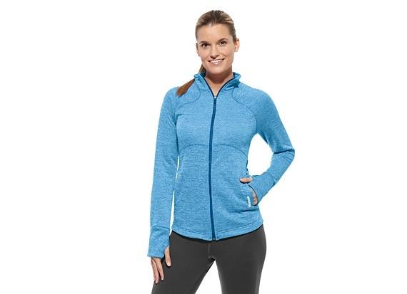 Reebok Women's Play Dry Jacket Jackets | Official Reebok Store | My Style | Pinterest | Plays ...