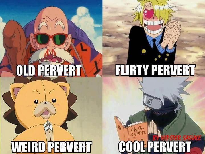 Funny Naruto Meme - Manga Memes: Every anime has their pervert