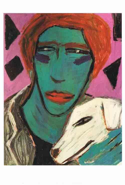 La Belle et La Bête (01). Charlotte Mutsaers. Postkaart