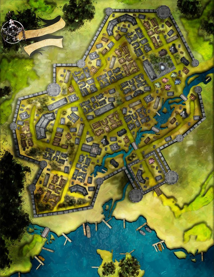 dundjinni map fantasy maps rpg software forums dungeon pathfinder never posted mapping town village medieval cities dd dnd walled cidade