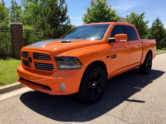 2015 dodge ram 1500 sport ignition orange
