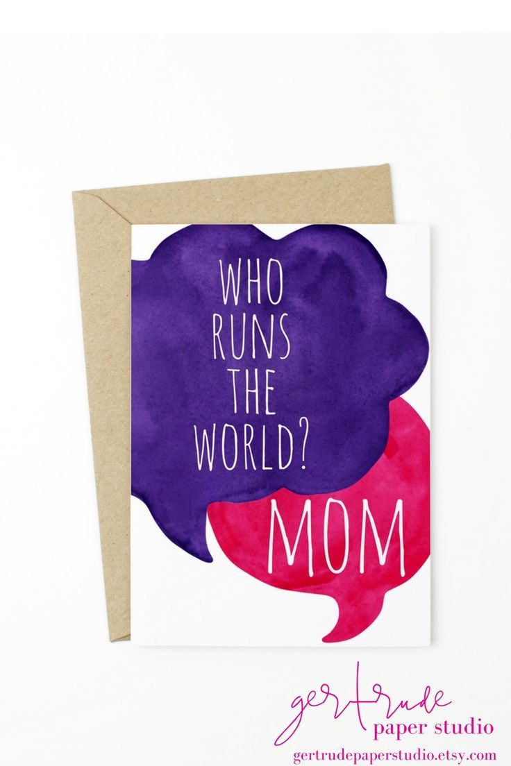 Beyonce Knows Who Runs The World Funny Greeting Cards Birthday Cards For Mom New Mom Gift Ideas Mo Birthday Cards For Mom Birthday Cards Mom Birthday Quotes