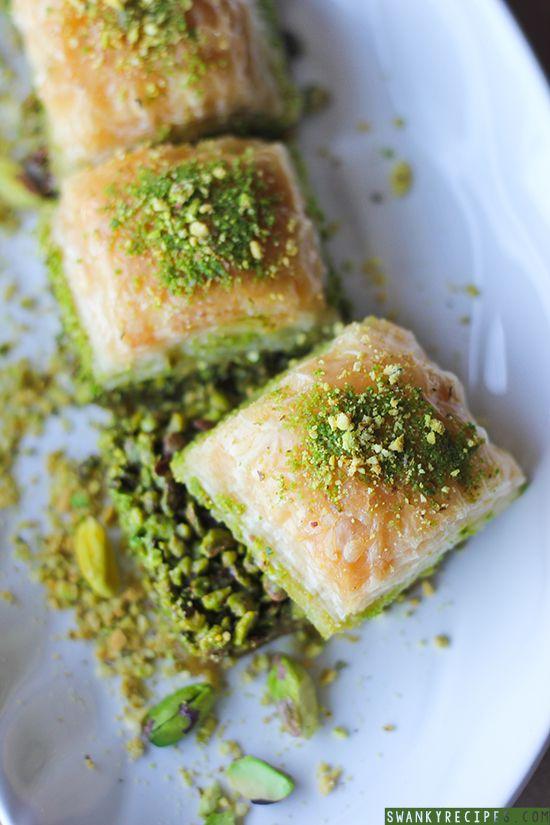 Easy Turkish Pistachio Baklava Recipe #turkishbaklava #pistachiobaklava #baklavarecipe