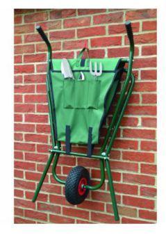 cheap garden wheelbarrow under $100. bosmere folding wheelbarrow