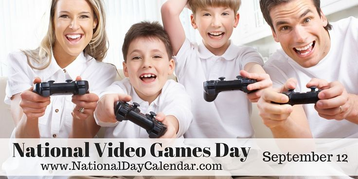 September 12, 2015 - NATIONAL VIDEO GAMES DAY - NATIONAL CHOCOLATE MILKSHAKE DAY - NATIONAL DAY OF ENCOURAGEMENT