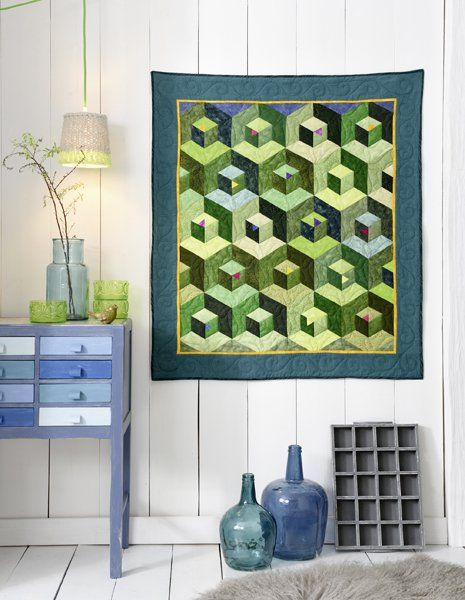 Les 78 meilleures images du tableau patchwork moderne sur pinterest modern moderne et patchwork - Wandbehang modern ...