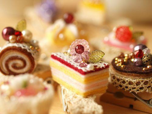 フェルトでケーキ!の作り方