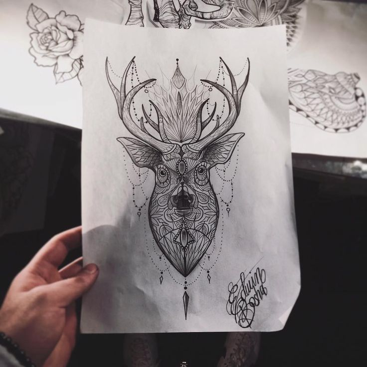 Oltre 25 fantastiche idee su disegno di cervo su pinterest for Art e decoration rivista