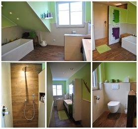 Badezimmer fliesen holzoptik grün  Die besten 25+ Grüne badfarben Ideen auf Pinterest | Grünes ...