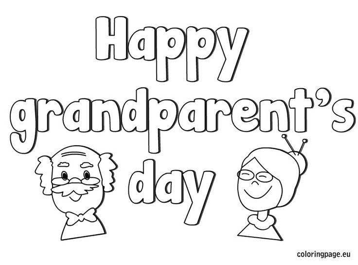 42 best mom dad grandparents images on pinterest mother for Happy fathers day grandpa coloring pages