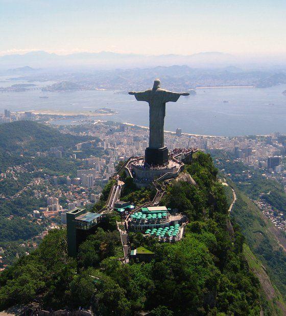 Cartolina di #Riodejaneiro, il Cristo Redentore  - pic dal #brasile di morry