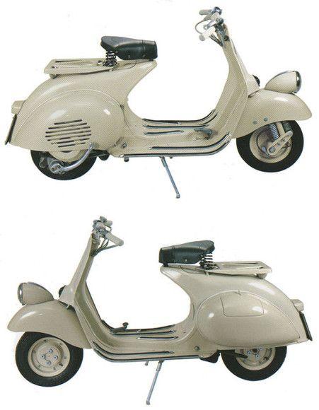 1954 Vespa 125 vn1t