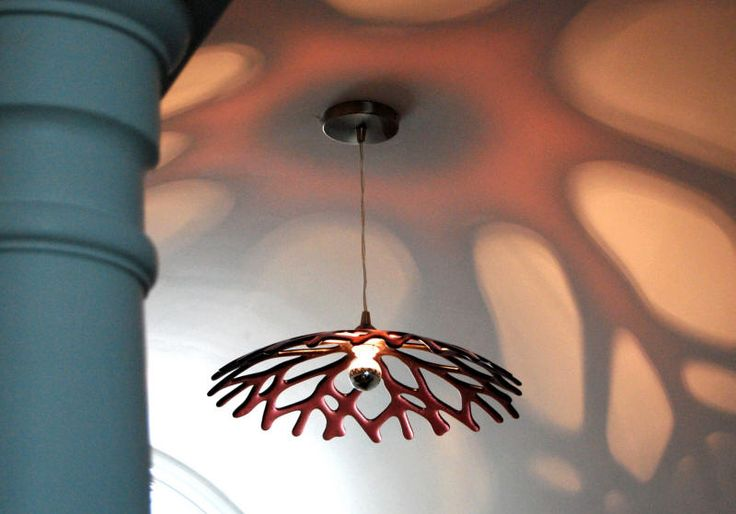 Gregorie Glass | GMR Glass   I traveled with Greg when I was in UWP...his creations are GORGEOUS and I want 3 of these for my dining room!!! Love the reflection on the ceiling!