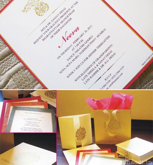 Indian Wedding Cards: Trends 2013   Myshaadi.in#India#Wedding Cards#Marriage Invitations#Indian Weddings