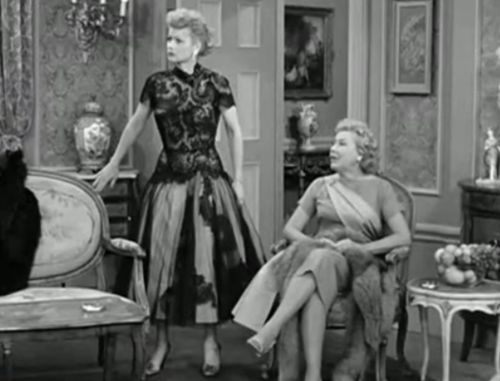 I Love Lucy Fashion The Monte Carlo Episode Exhibited Ultimate In Posh Clothes