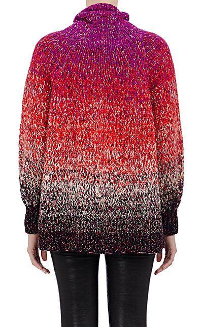 Spencer Vladimir Dégradé Oversized Turtleneck Sweater - Turtleneck - Barneys.com