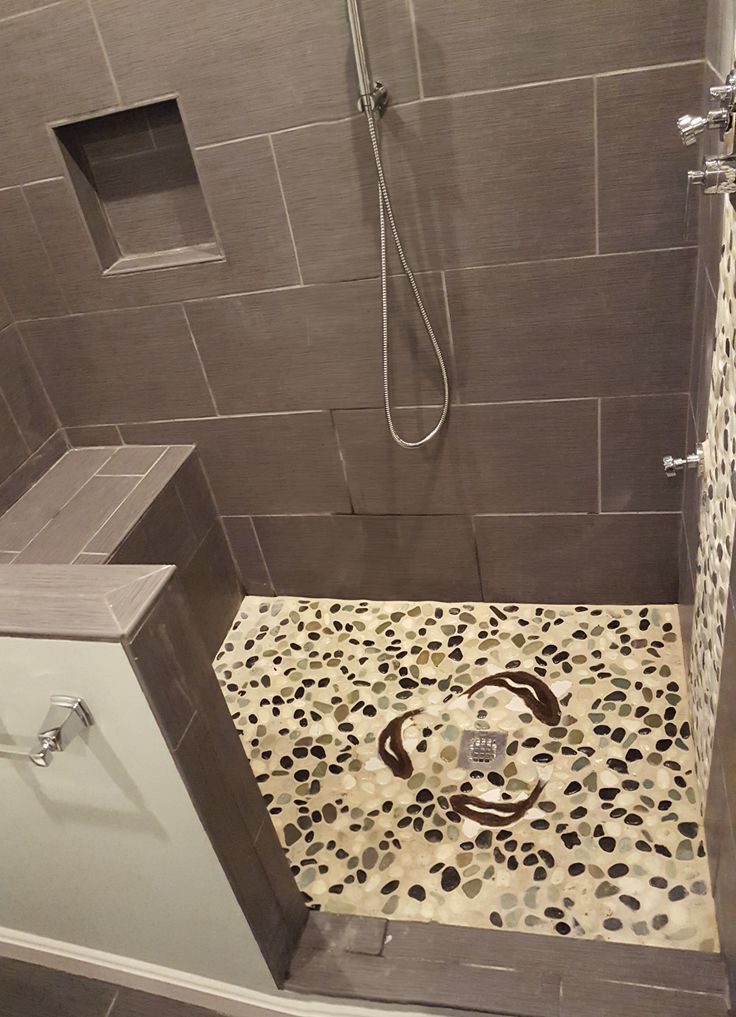 563 best Bathroom Pebble Tile and Stone Tile Ideas images ...