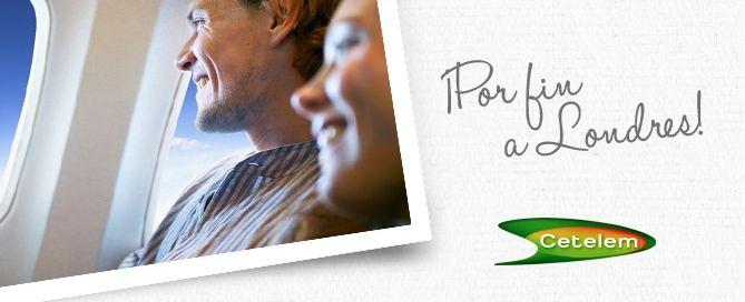 Campaña Cetelem. Regalo seguro de Vuelos a principales destinos europeos, París, Londres, Roma, Amsterdam, Lisboa, Praga… #viajes