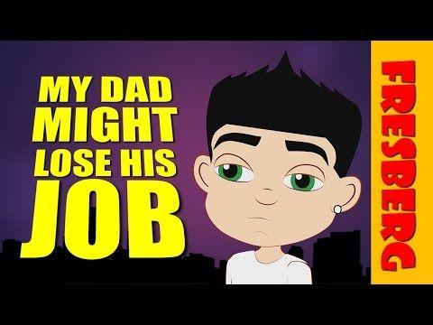 How to explain unemployment to kids? How does unemployment affect children! (Educational Cartoon)  Website: www.fresbergcartoon.com