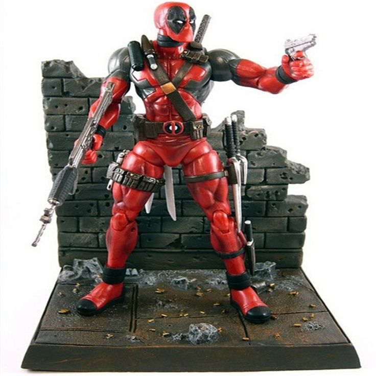 (26.75$)  Watch here  - 2016 New Deadpool Action Figures 23cm Super hero X-Men Deadpool action figure toys collection mobile toy doll Christmas gift