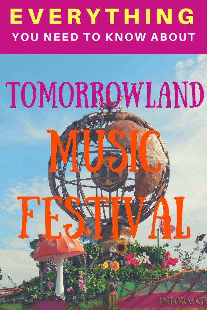 Planning to attend Tomorrowland Music Festival? Here is EVERYTHING you NEED to know about Tomorrowland. | Tips on how to purchase tickets, what to expect, and how to prepare. | Music Festivals