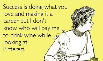 I'm totally doing this right now!  lol