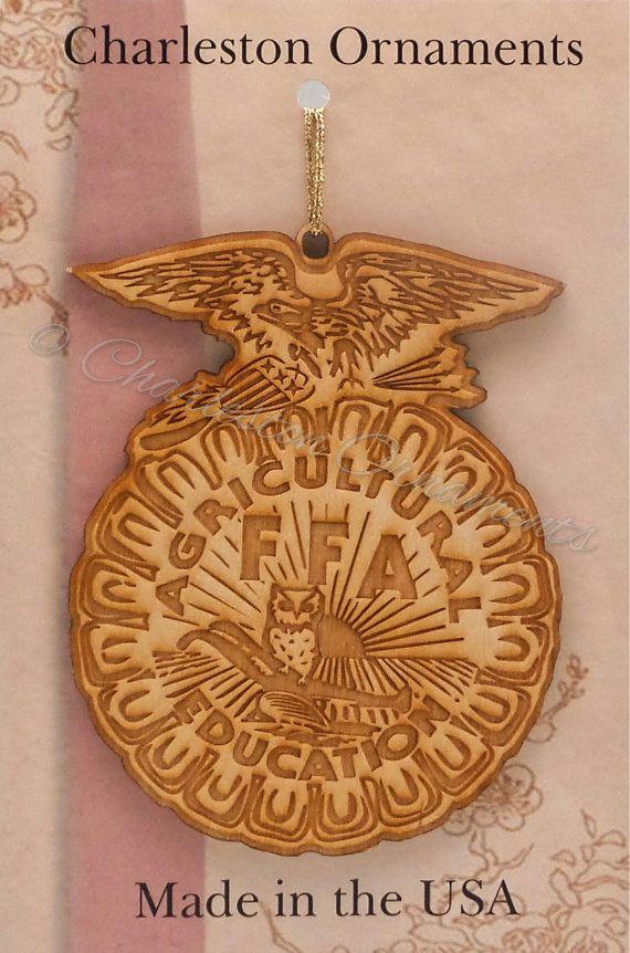 Custom FFA Ornament, Future Farmers of America Ornament