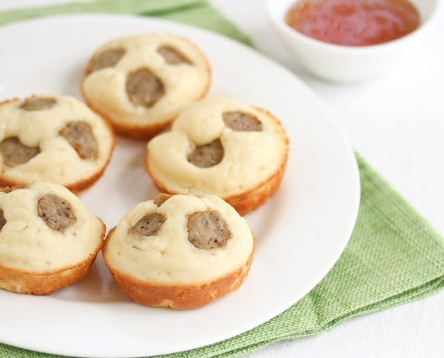 Sausage Pancake Cups, quick & easy for the kids | Kirbie's Cravings | A San Diego food blog