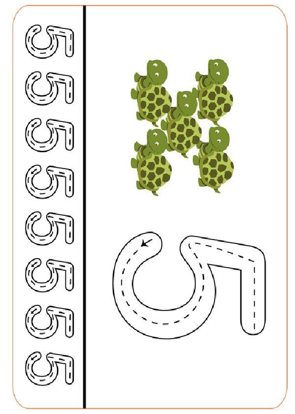 Actividades para imprimir Practica la escritura de los números 27