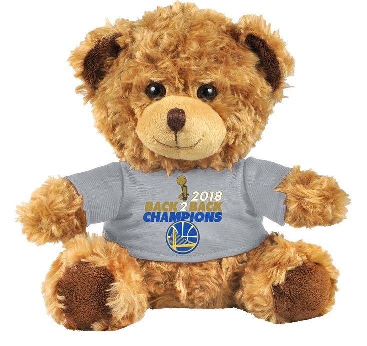 Golden State Warriors 2018 NBA Champions Seated Shirt Bear ...