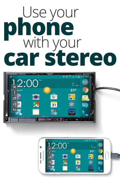 3 ways to use your phone with your car stereo